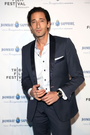 Adrien Brody <br> Photo by Getty Images