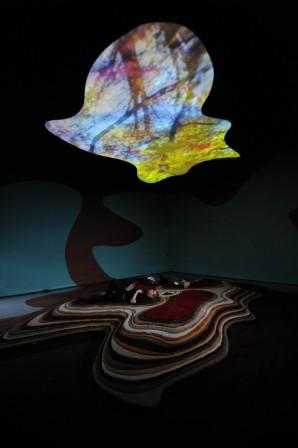 Tyngdkraft, var min vän (Gravity Be My Friend), 2007<br>Installation view, FACT, Liverpool, United Kingdom, 2008<br>Photo: Brian Slater