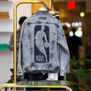 Kitsuné x NBA Tour at Kitsuné Store on Lafayette St. Photo: Ryosuke Miyai.